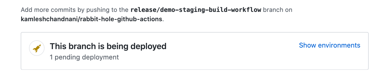 Workflow - Deploy - Staging
